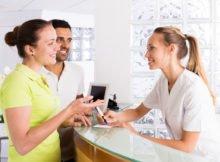 Recepcionista para clínica dental